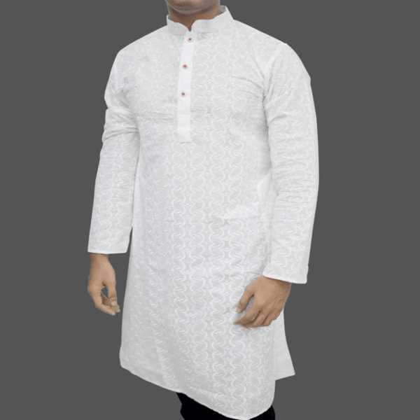 Chicken fabrics panjabi