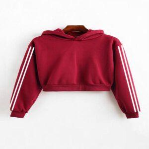 Ladies red hoodie