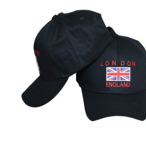 LONDON FLAG CAP BLACK Original -LB1