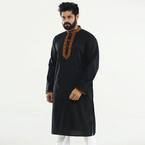 Black-Cotton-Panjabi-PN81.1