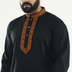 Black-Cotton-Panjabi-PN81.2