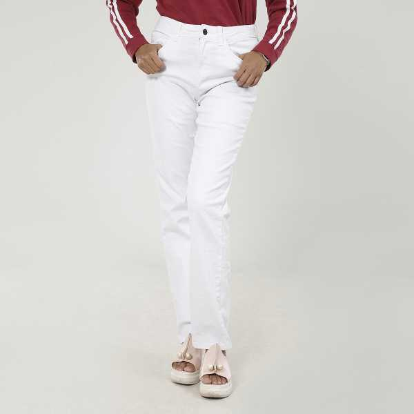 Ladies White Pant